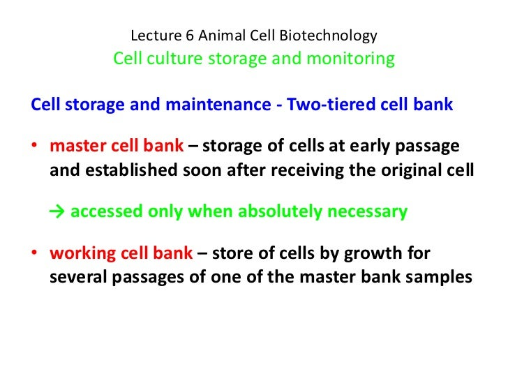 Lecture 6   cell culture monitoring