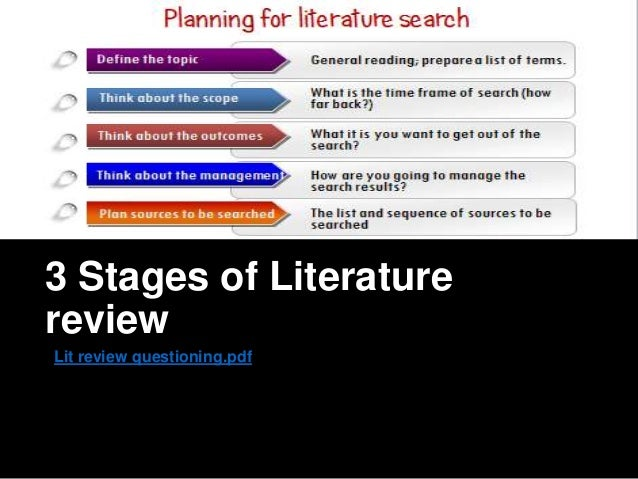 Literature review health care applications