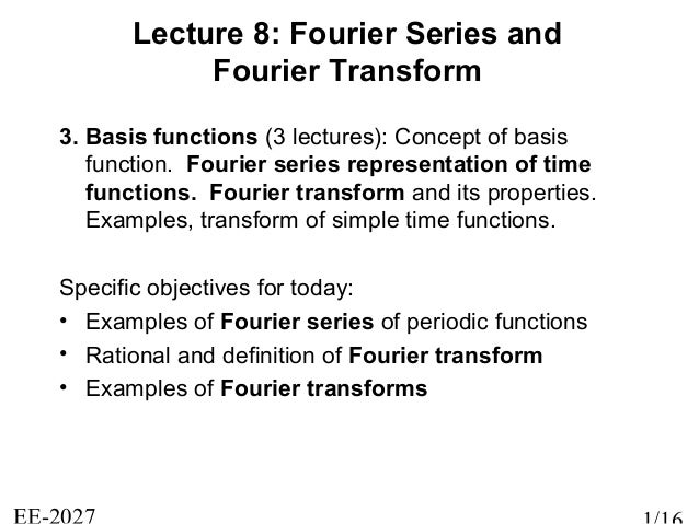 Lecture7 Signal and Systems