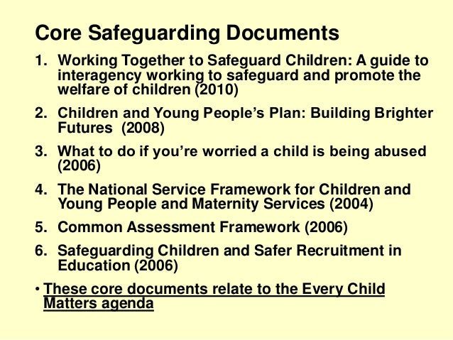 info protect someone from harm training child adult protection