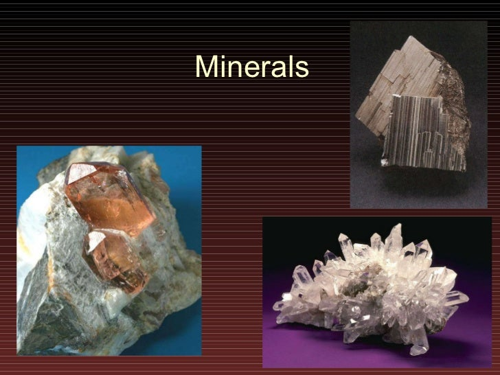 Lecture7 minerals