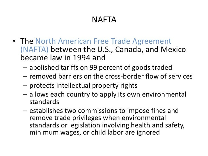 advantages and disadvantages of regional integration nafta The disadvantages of regional integration include limited fiscal capabilities, cultural centralization, creation of trading blocs, diversion of trade and surrendering some degree of.