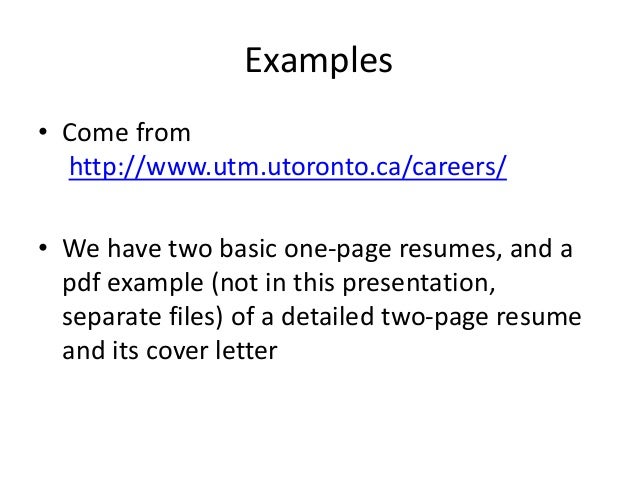 How To Write A Resume For My First Job