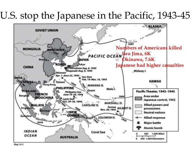 U.S. Reconquer the Philippines from the Japanese, 1944  U.S. had occupied Japan previously from 1899-1916  The Battle of P...