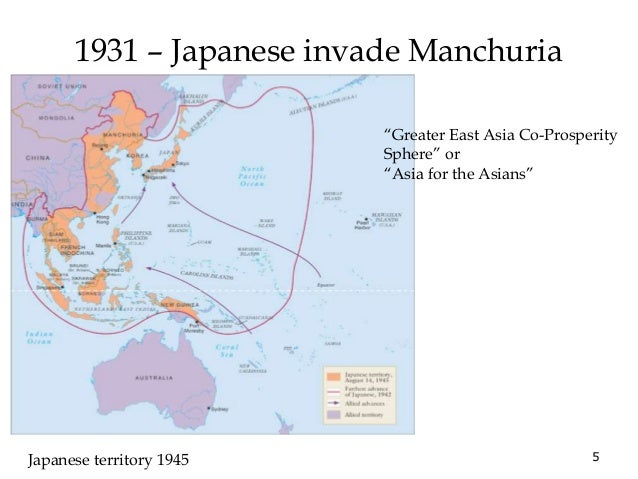 The Mukden Incident (1931)  o Japanese troops in Manchuria,  China, secretly blow up small  parts of the Japanese-built  S...