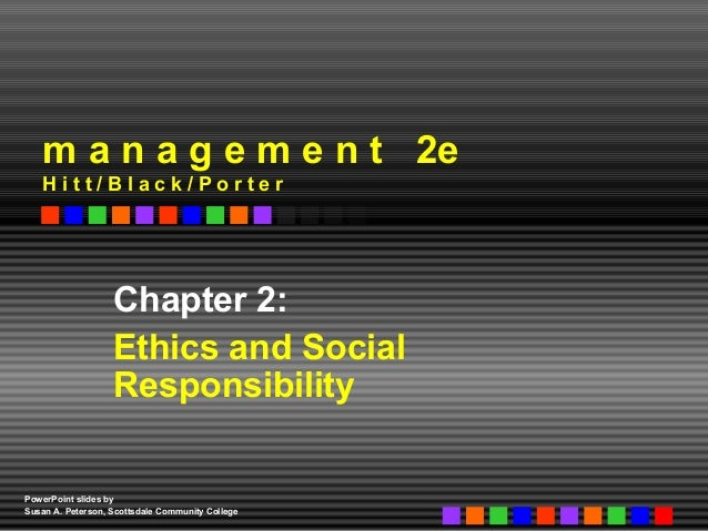 business ethics and social responsibility essay