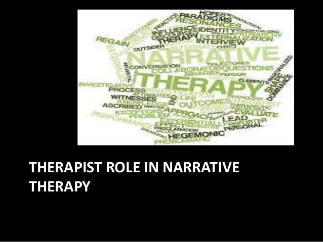 essays on narrative therapy About narrative therapy  narrative therapy is a collaborative and non-pathologizing approach to counselling and community work which centres people as the experts.