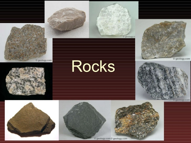 Lecture8 rocks