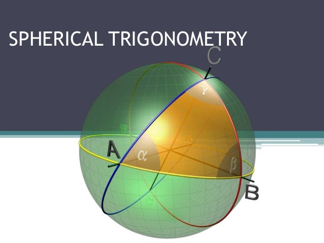 spherical triangles