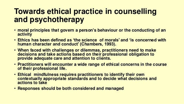 bacp ethics counselling