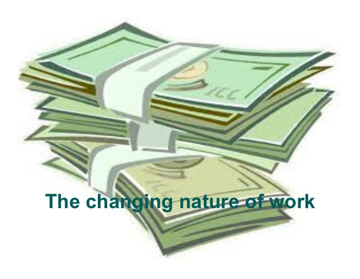 Ems - Summer I '11 - T101 Lecture 9: Peter Blank on the Changing Nature of Work