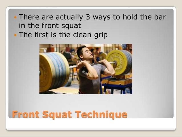 Squat Clean Technique Front Squat Technique There