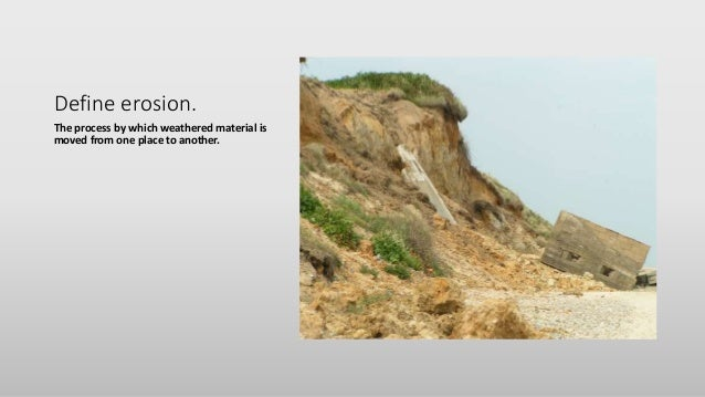 Lecture and study guide rocks soils erosion weathering for Define what is soil