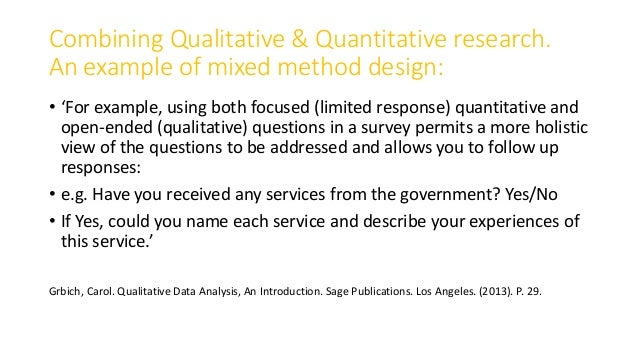 quantitative qualitative and mixed research methods essay