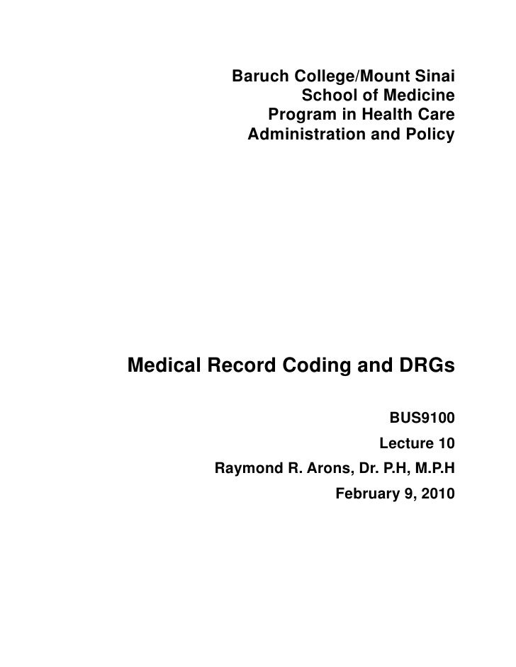Baruch College/Mount Sinai                 School of Medicine             Program in Health Care          Administration a...