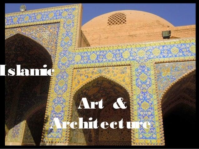 Lecture, Islamic Art & Architecture