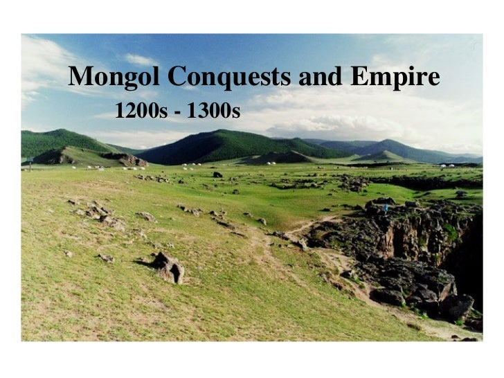 Lecture mongolconquests
