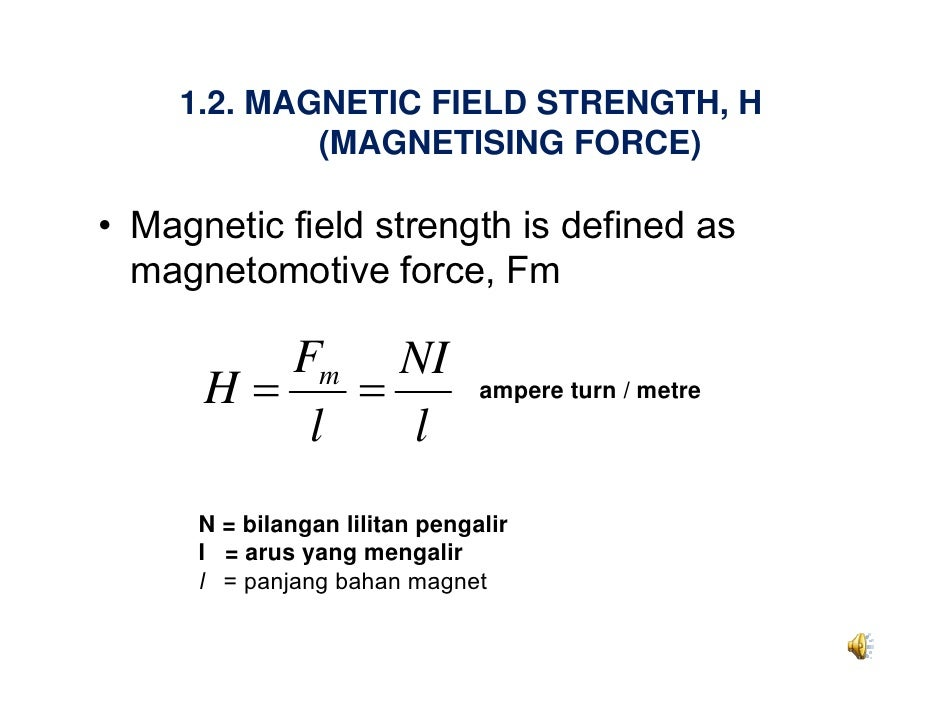 Magnetic field strength equation - My site Daot.tk