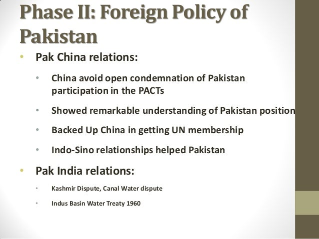 dterminants of pakistans foreign policy Pakistan's identity problem pakistan's establishment has chosen to focus solely on the country's muslim history,  more from foreign policy by taboola.