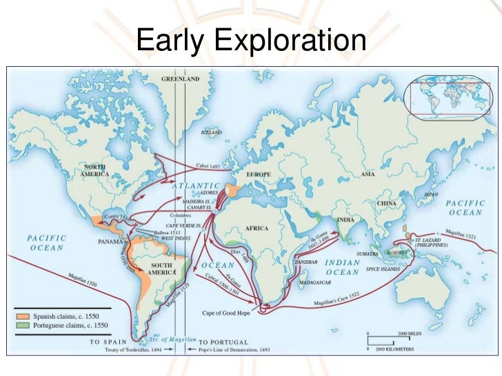 Annotated Map Columbian Exchange Bnhspine
