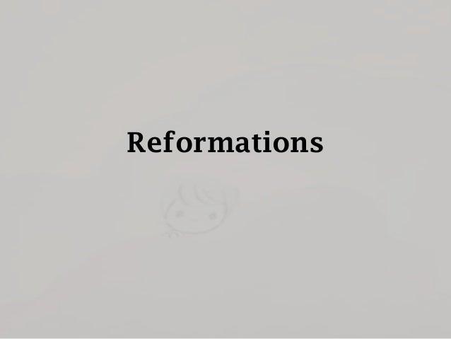 European Reformations