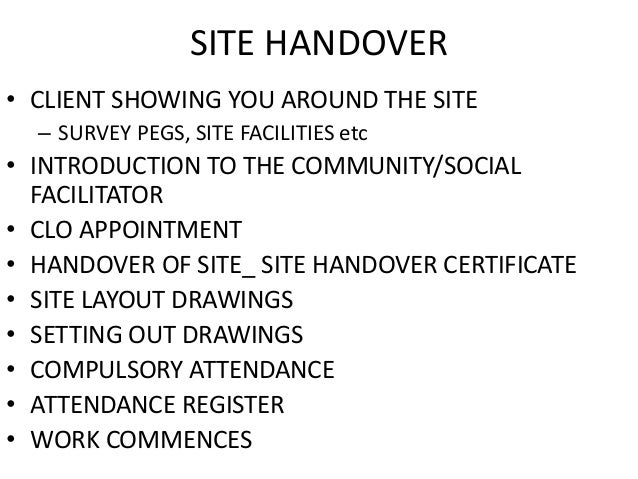 Construction project handover letter sle 28 images resignation construction project handover letter sle handover list template 28 images project handover thecheapjerseys Gallery