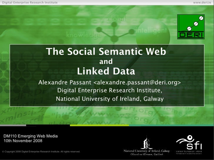 The Social Semantic Web and Linked Data