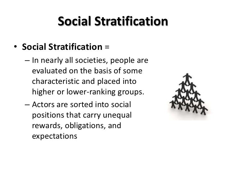 is stratification inevitable Social stratification influenced by inequality due to the natural differences in people's abilities, social inequality is naturally inevitable according to (crossman, 2014), social inequality is characterized by the existence of unequal opportunities and rewards for different social positions or statuses within a group or society.