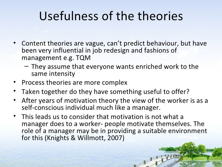 motivation theories 2 essay Higher education (the mobility plus project 1115/mob/13/2014/0) 2 reflecting  on roy baumeister's guidelines for a general theory of motivation, we relate.