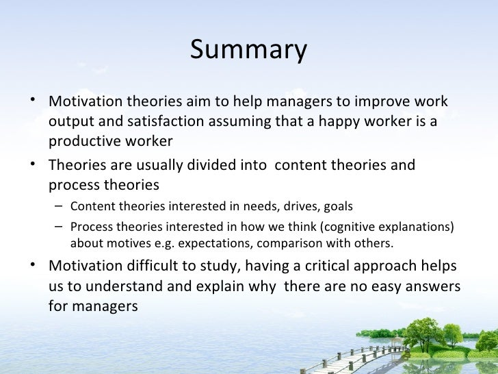 relevance of motivation theories and its Its theoretical evolution in this field to be able to consider its relevance in the learning and teaching of a foreign language motivation is a term that is commonly used among language teachers and language.