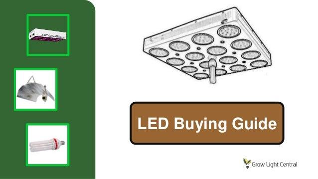 Led grow light guide choose the best led plant light for for Indoor gardening lighting guide