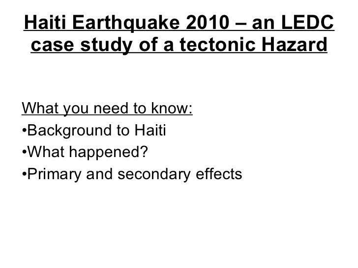 essay on 2010 This short essay is about the catastrophic earthquake that happened in haiti,and sum of the devastating things it did and how it affects how people liread the essay free on.
