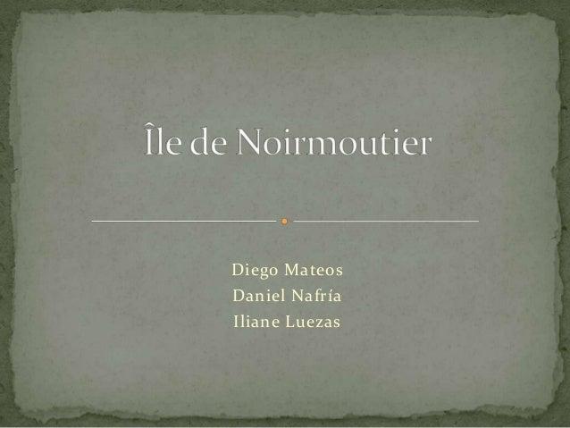 Diego Mateos Daniel Nafría Iliane Luezas