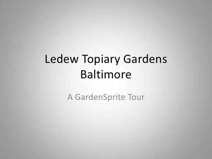 Ledew Topiary Gardens