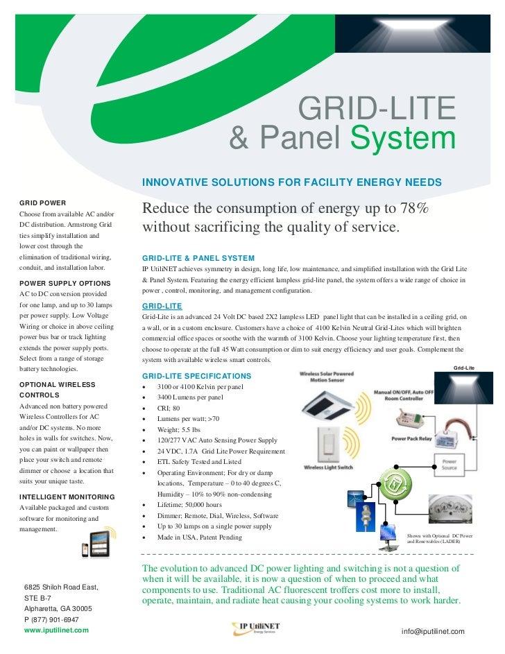 LED Grid Lite & Panel System