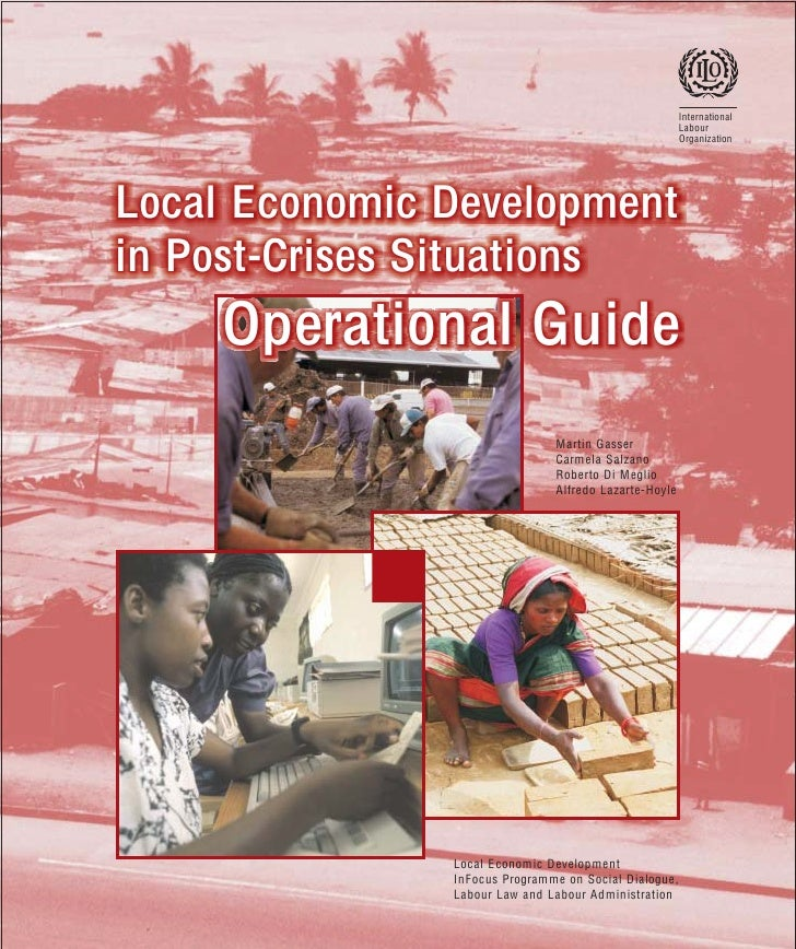 LED in post crises situation operations guide