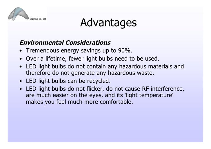led light bulbs advantages Gallery