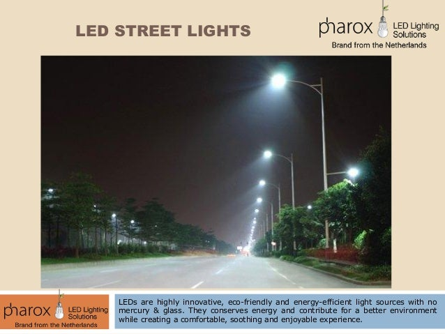 Advantages of LED Street Lights