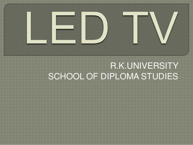 R.K.UNIVERSITY SCHOOL OF DIPLOMA STUDIES