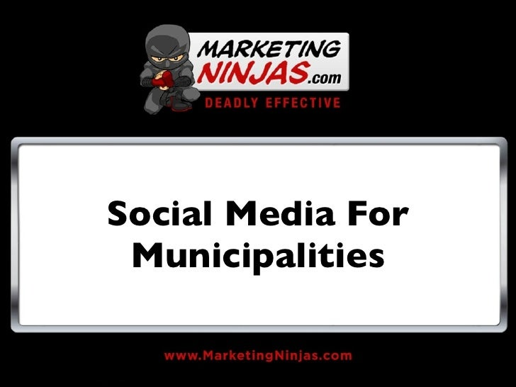 Social Media For Municipalities