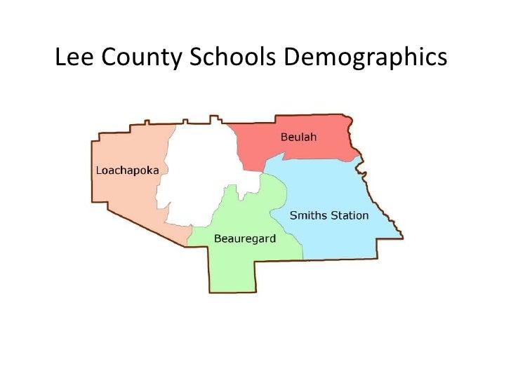 Lee County Schools Demographics<br />