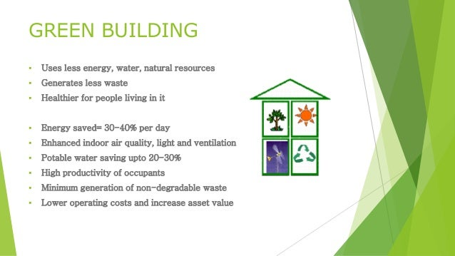 Green Building  Uses Less