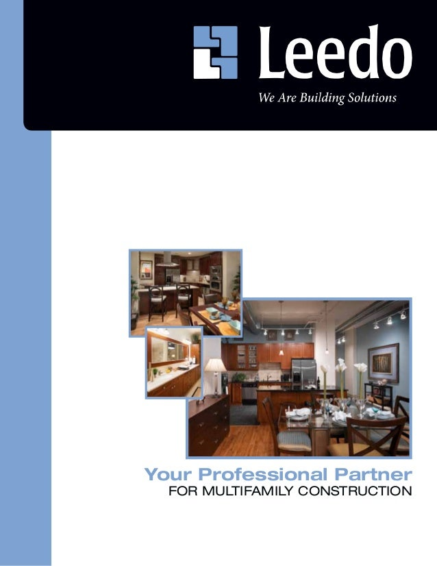 Your Professional Partner  FOR MULTIFAMILY CONSTRUCTION