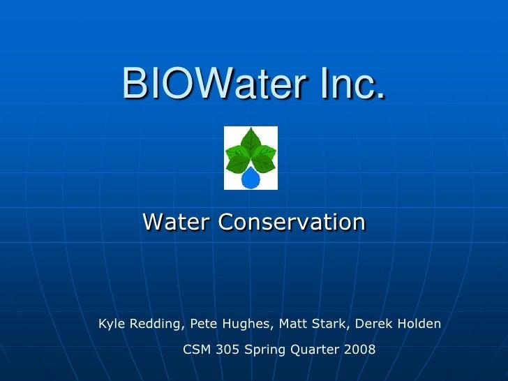 LEED Water Savers