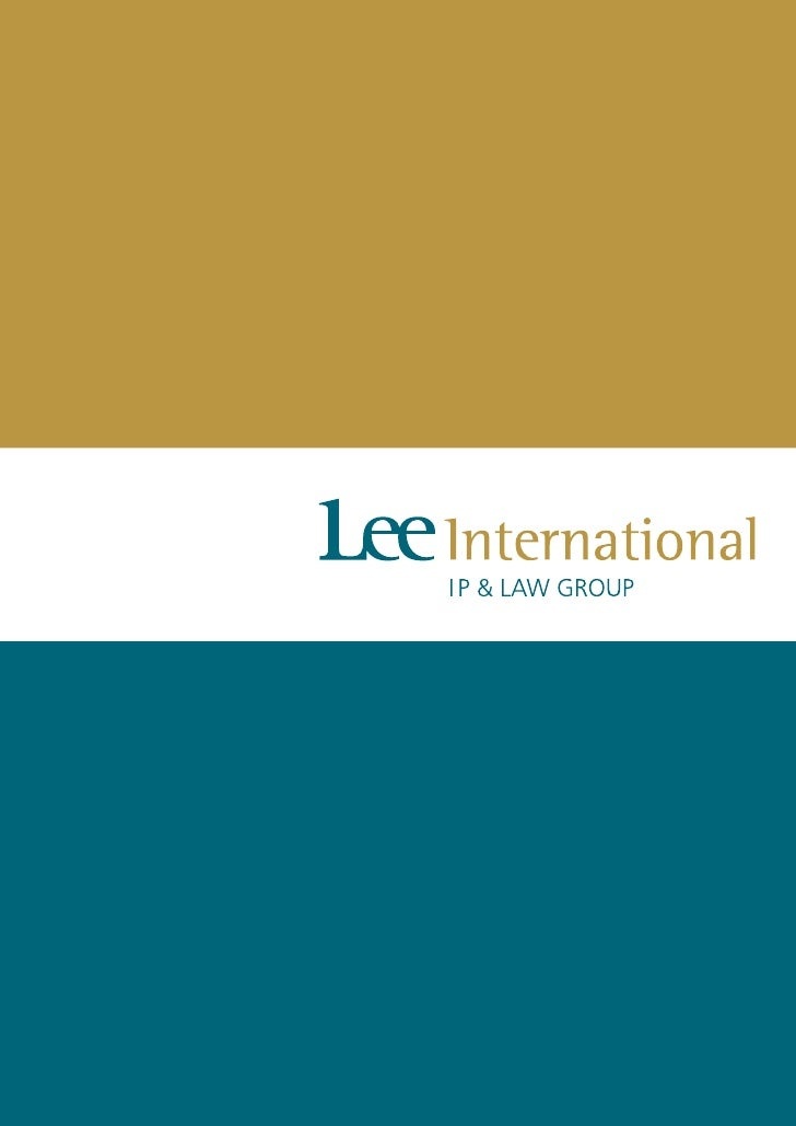 Lee International Ip & Law Group Brochure En