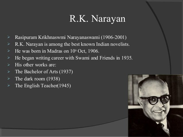 the english teacher rk narayan