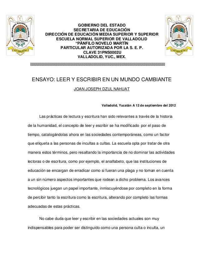 GOBIERNO DEL ESTADO                      SECRETARIA DE EDUCACIÓN          DIRECCIÓN DE EDUCACIÓN MEDIA SUPERIOR Y SUPERIOR...