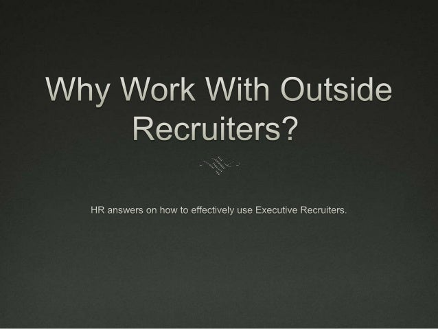 Intense Speed and Focus   Web of contacts    Where will HR find the time to build the pipeline and network?    Lee Sear...