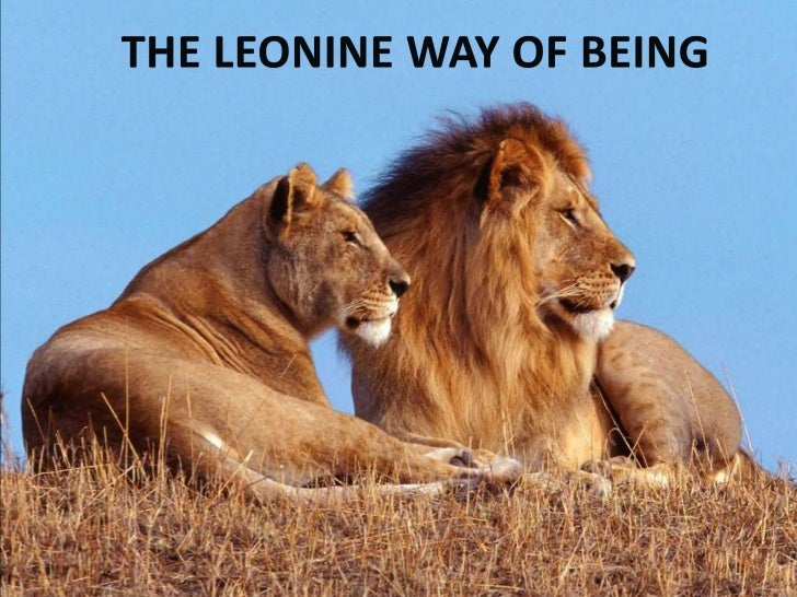 The Leonine Way of Being