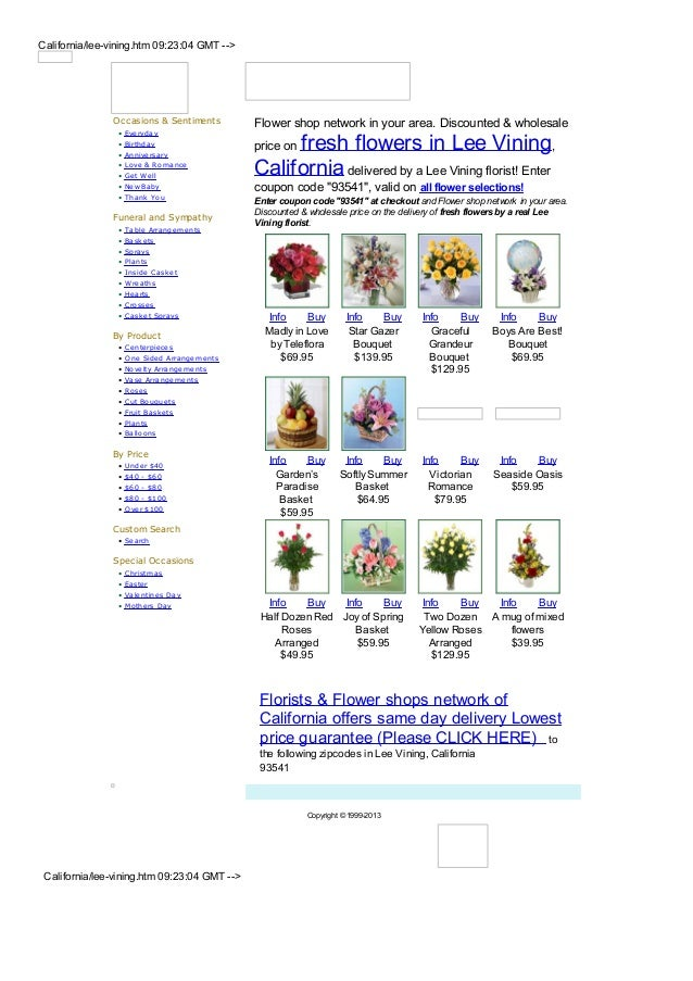 California/lee-vining.htm 09:23:04 GMT -->                Occasions & Sentiments          Flower shop network in your area...